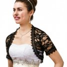 Black Lace Bolero Jacket N720SLJ-BLK