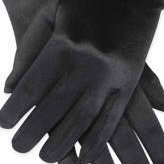 Black Opera Party Satin Gloves