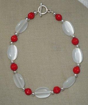 Delta Sigma Theta  Oval Bracelet