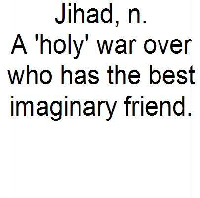 Jihad, n. :
