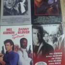 Lethal weapon 1-4 vhs lot