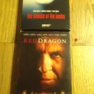 Red Dragon and Silence of the lambs vhs movie lot