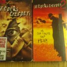 Jeepers Creepers 1-2 VHS LOT