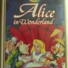 Alice in wonderland VHS [ Clamshell ] Masterpiece Collection.