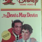 The Devil & Max Devlin VHS ( White clamshell ) very collectable