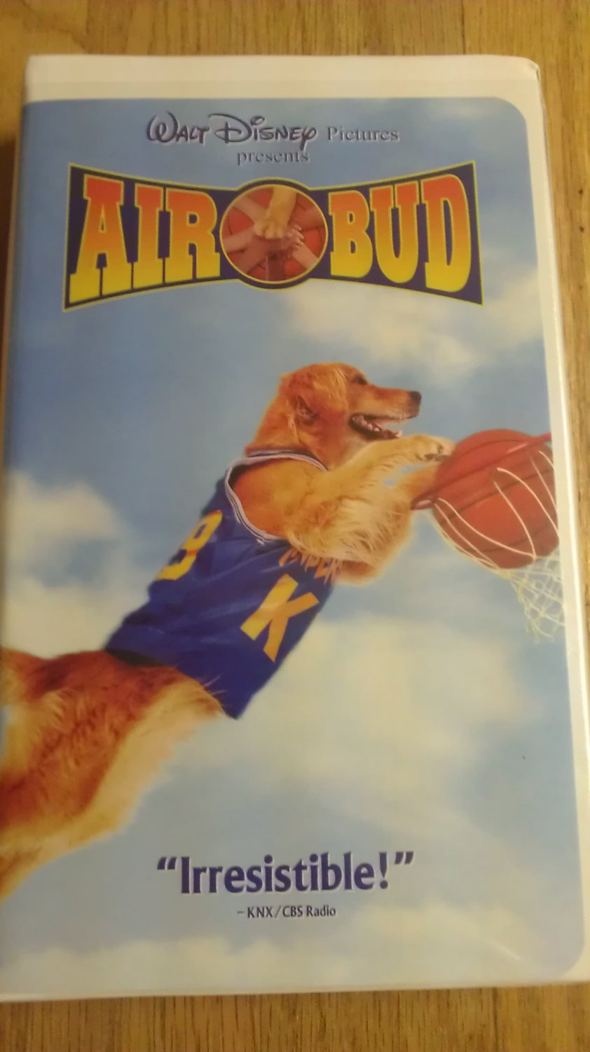 Air Bud Vhs Clamshell