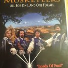 The Three Musketeers VHS [ Clamshell ]