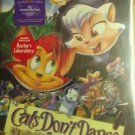 Cats Dont Dance ( VHS ) [ Clamshell ] NEW