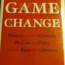 Game Change ( Hard cover ) [ NEW ] Obama and the Clintons,  McCain and Palin.