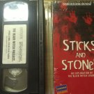 The Blair Witch Project and Sticks and Stones VHS LOT