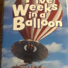 Five weeks in a balloon ( VHS ) [ Clamshell ]