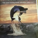 Free Willy ( VHS ) [ Clamshell ]