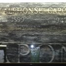 AL ( ALPHONSE ) CAPONE aka SCARFACE L.E deluxe 6 piece grave rubbing set.