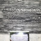 AL ( ALPHONSE ) CAPONE aka SCARFACE L.E 3 piece grave rubbing set.