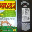 "Johnny Legend Presents ""Bambi Meets Godzilla"" & Other Weird Cartoons (VHS, 1989 ) RARE OOP"