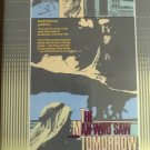 The man who saw tomorrow rare oop clamshell  ( 1981 )   [ 1986 VHS RELEASE ]