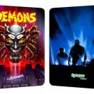 DEMONS , BLU-RAY/DVD COMBO STEELBOOK LIMITED TO 3,000 COPIES ( ONE PRESS ONLY )