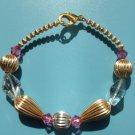 Pink 14kt  bracelet