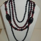 Blaque  Paint Necklace Set