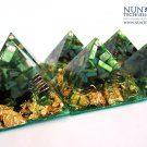 Crystal Orgone Pyramid For Attracting Wealth, Abudance and Prosperity By DR NEB HERU