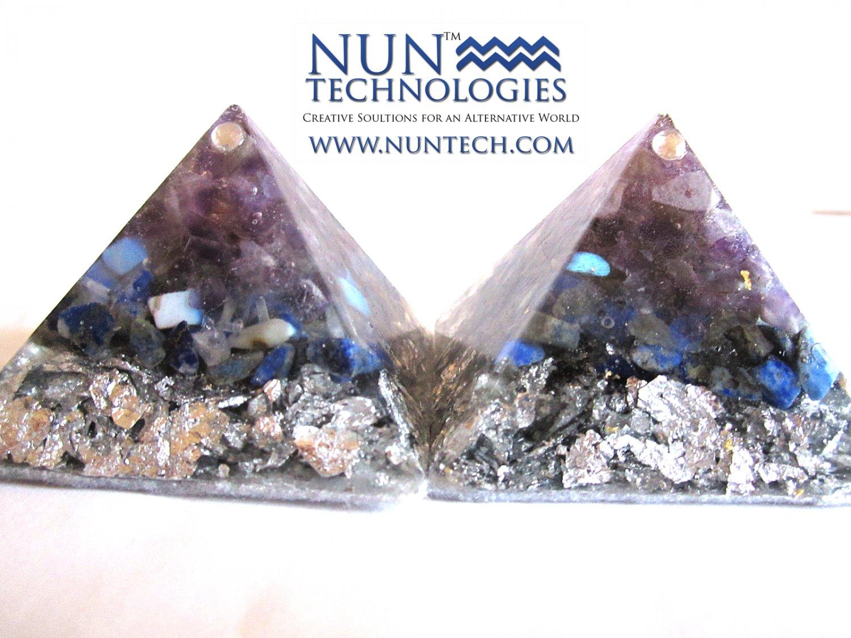 Crystal Orgone Pyramid For Spirit Guide Ancestral Communication By DR NEB HERU