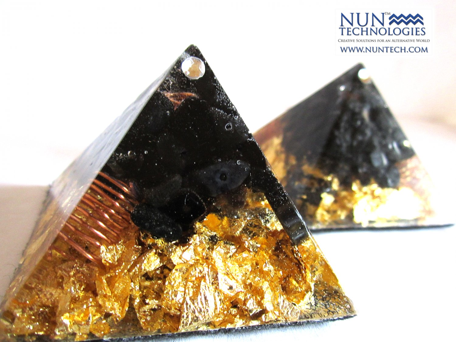Crystal Orgone Pyramid For Protection against Psychic Vampires and Negative People By DR NEB HERU