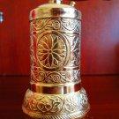 Turkish Salt, Pepper Mill, Spice Grinder (Gold Color)