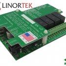 Linortek Fargo R4ADI Smartphone & Web Remote Relay Control/Monitor Board, Web Server,POE, I/O