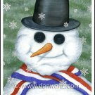 Snowman Original Painting