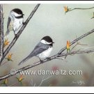Spring Chickadees Original