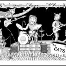 Cats of Jazz Print