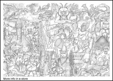 Art of Dragon Fly Print