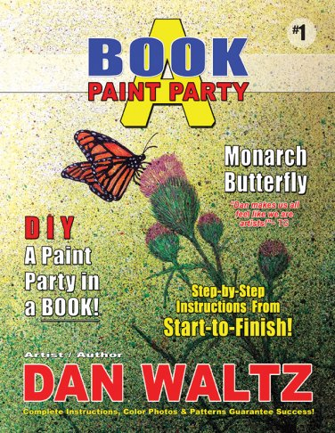 Book A Paint Party: Book 1  ISBN# 978-1543208849
