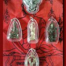 5 Antique Thai Amulets Pendant
