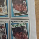 "Tony Oliva 1989 Topps ""Turn Back The Clock"" card"