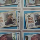 "Hank Aaron 1989 Topps ""Turn Back The Clock"" card"