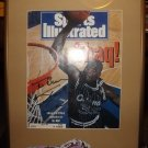 Shaq autographed magazine cover