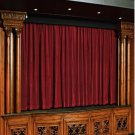 Cemelia 100% Vintage Traditional Blackout Velvet Curtain Theater Panel - 9W by 9H ft