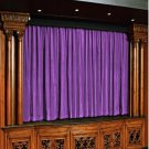 Vintage Style Pole Pocket Lavender 100% cotton Velvet curtain Theater/Stage Panel - 12Wx9H FT