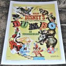 Walt Disney's Dumbo Limited Print VF/NM Condition #44 of 454 World-Wide