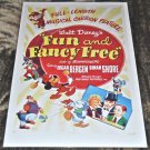"Walt Disney's ""Fun and Fancy Free"" Original theatrical release poster 1947 #47 of 598 World-Wide"