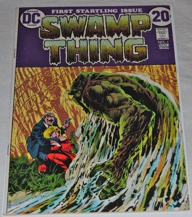 Swamp Thing #1 1972 Origins of Swamp Thing Bernie Wrightson BRONZE AGE KEY