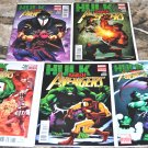 Hulk Smash Avengers Lot 1, 2, 3, 4, 5 2012 LIMITED SERIES NM/ NM+ Conditions