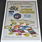 Three Caballeros Re-Release Theatrical Movie Release Poster 1943