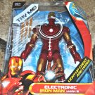 "Electronic Iron Man Mark III Iron Man 2 Motion Activated Sounds 12"" Figure"