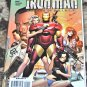 Iron Man: Director of S.H.I.E.L.D. Annual #1 2008 DFE SIGNED WITH COA in NM/ NM+ Condition