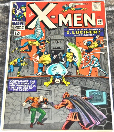 X-Men #20 1966 [1963 Series] in GD/ VG Condition