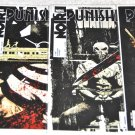 Punisher Noir Lot 1, 2, 3, 4 Limited Series in VF/ NM Condition