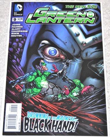 Green Lantern #9 2011 Series [Doug Mahnke Cover] in NM Condition