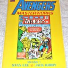 Avengers Masterworks #1 1993 Collected 1rst Edition/ 1rst Printing
